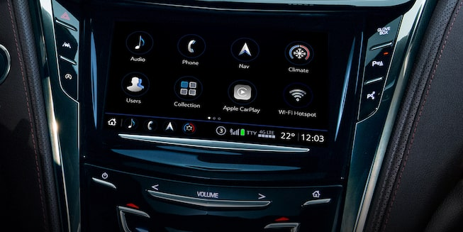 2019 CTS technology: Cadillac User Experience.