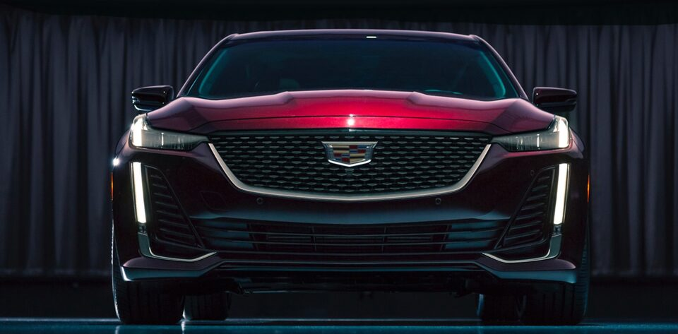 Cadillac CT5 Sedan Front Grille Exterior