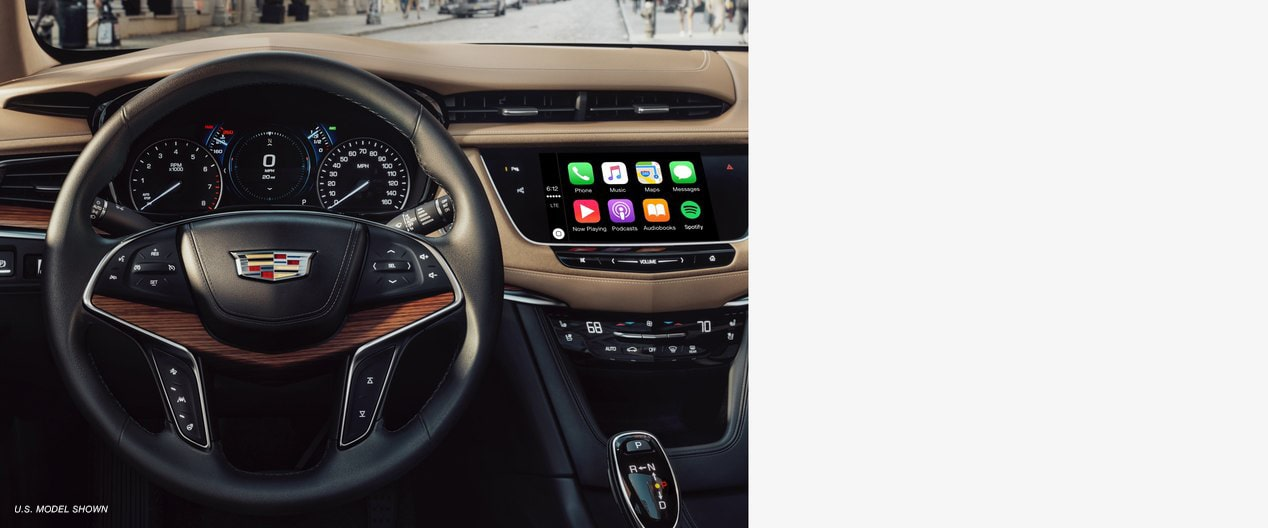 The Cadillac XT5 interior crafted to pair the beautiful with the technical.