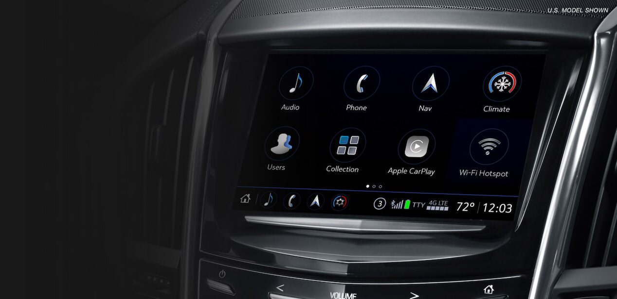 The Cadillac User Experience seamlessly connects you to information, communication and entertainment.