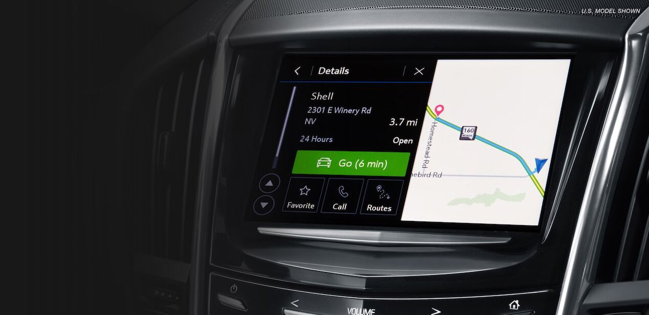 The Cadillac User Experience connects you to apps, maps, weather, music and more.