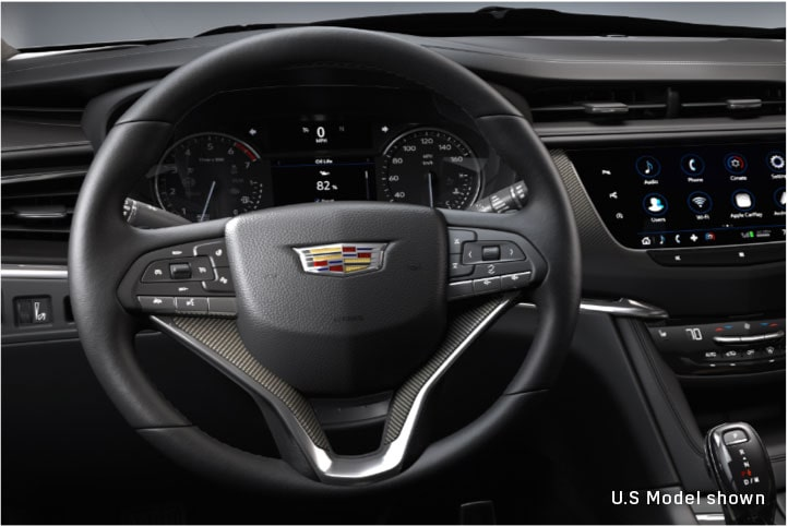 2020 Cadillac XT6 Drive Modes Displayed By Vehicle In Motion.