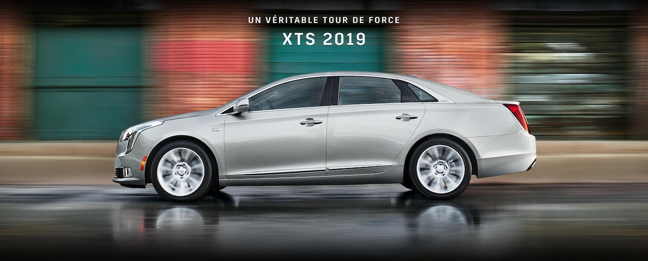 2019 Cadillac XTS full-size luxury sedan.